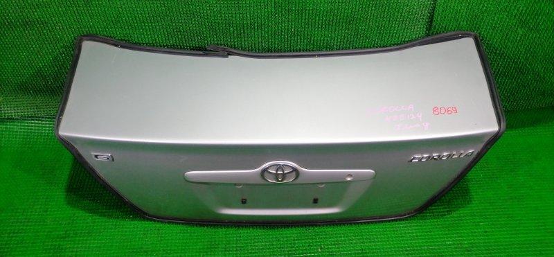Крышка багажника Toyota Corolla NZE124 (б/у)