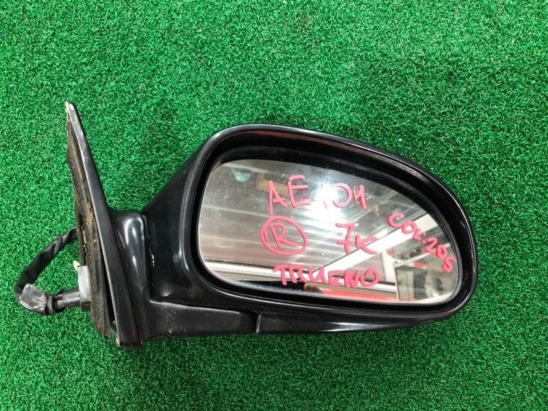 Зеркало Toyota Trueno AE101 правое (б/у)