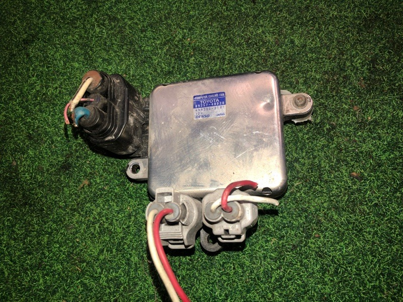 Блок управления вентиляторами Toyota Crown Majesta UZS187 3UZ-FE (б/у)