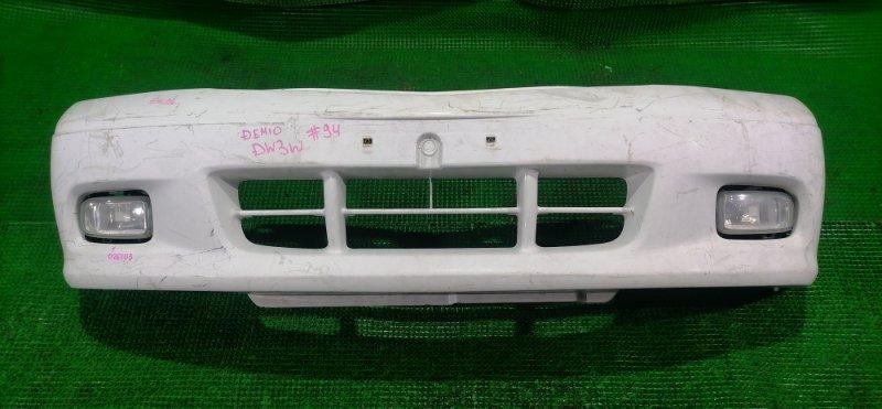 Бампер Mazda Demio DW3W передний (б/у)