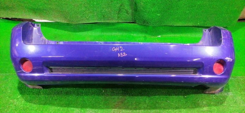Бампер Honda Hr-V GH2 D16A 1999 задний (б/у)