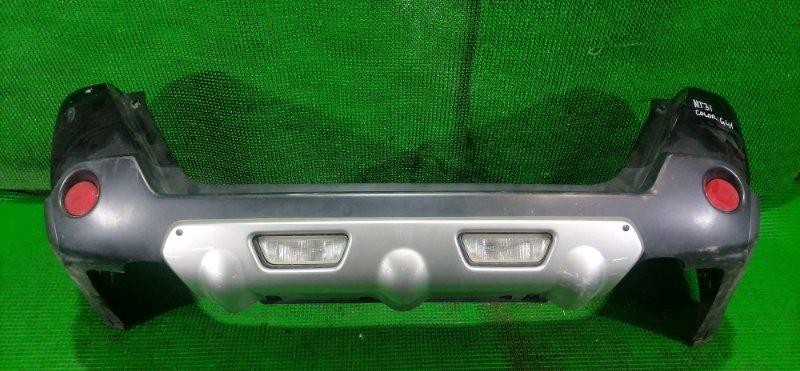 Бампер Nissan X-Trail NT31 задний (б/у)