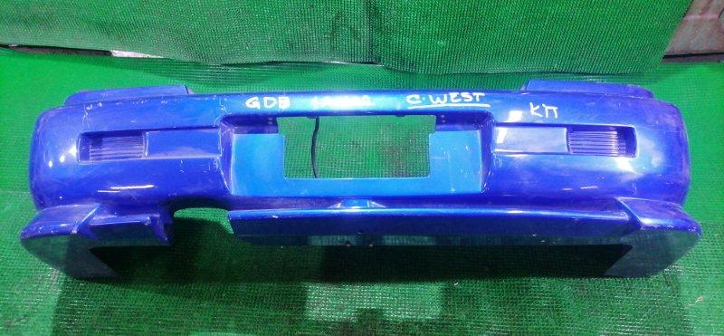 Бампер Subaru Impreza GDB задний (б/у)