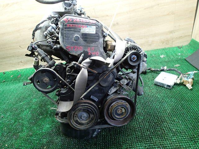 Двс Toyota Caldina ST210 3S-FE 2001 (б/у)