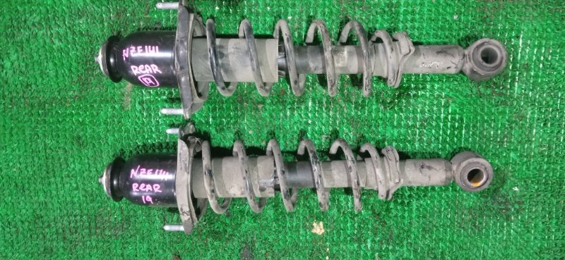 Стойка подвески Toyota Corolla Fielder NZE141 задняя (б/у)