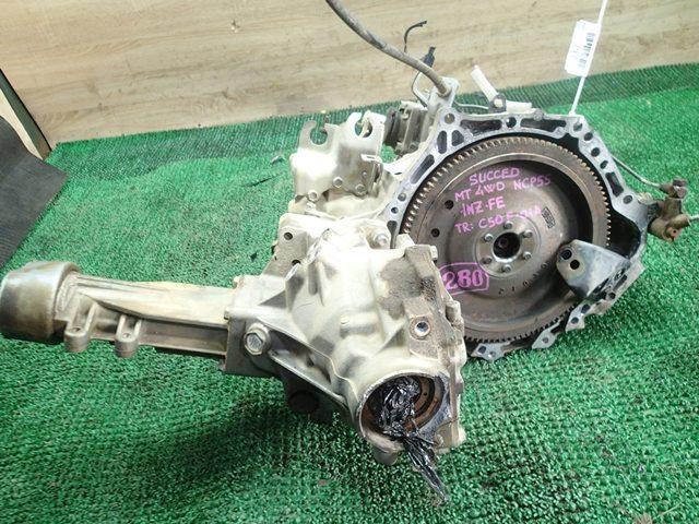 Мкпп Toyota Probox NCP55 1NZ-FE (б/у)