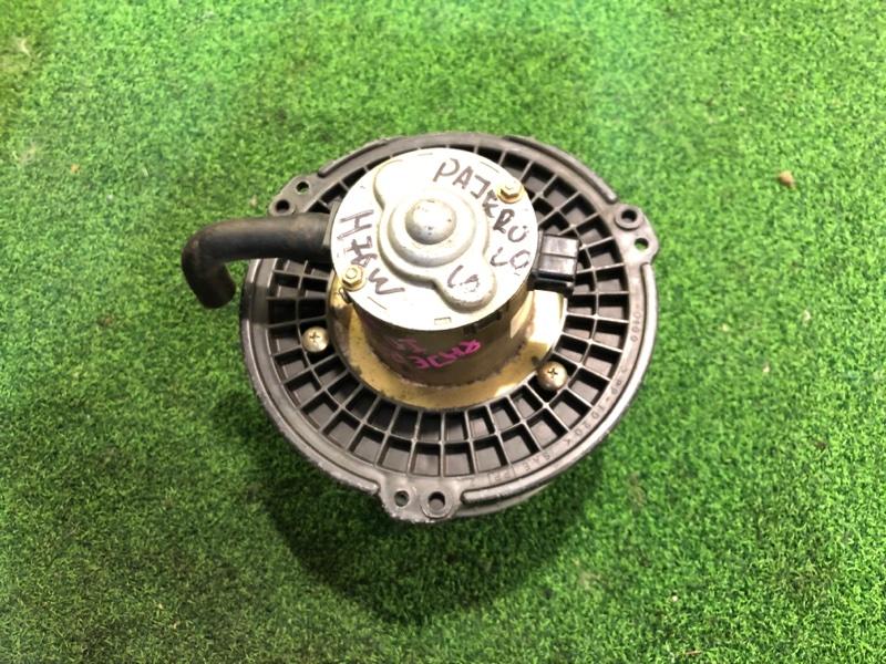 Мотор печки Mitsubishi Pajero Io H76W (б/у)