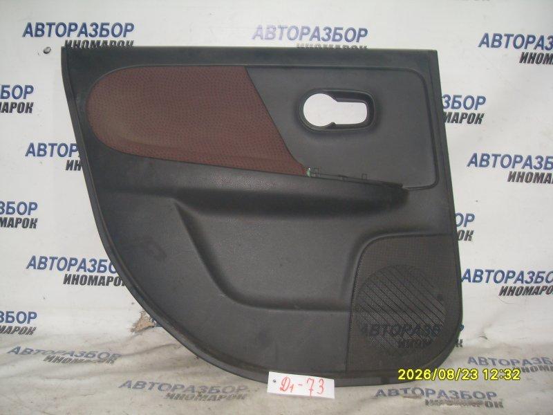 Обшивка двери Nissan Note E11 задняя левая (б/у)