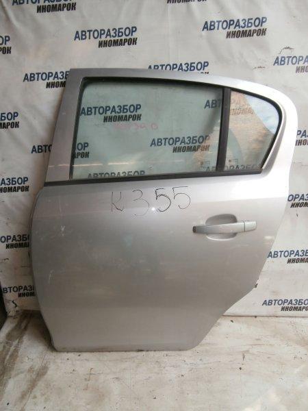 Дверь задняя левая Opel Corsa D S07 2006 задняя левая (б/у)
