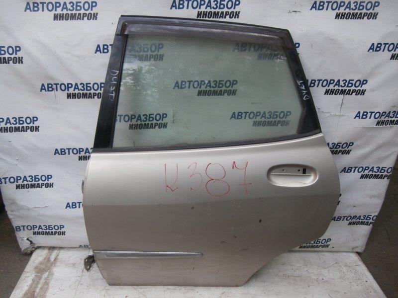 Дверь задняя левая Toyota Duet M100A задняя левая (б/у)