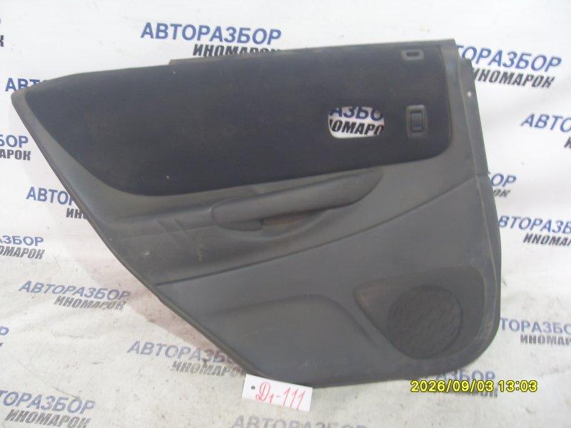 Обшивка двери Mazda Familia BJ3P задняя левая (б/у)