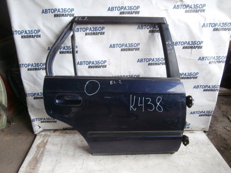 Дверь задняя правая Honda Orthia EL1 задняя правая (б/у)