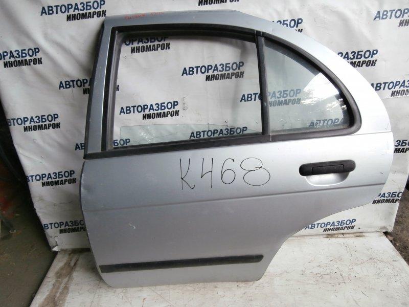 Дверь задняя левая Nissan Pulsar EN15 задняя левая (б/у)