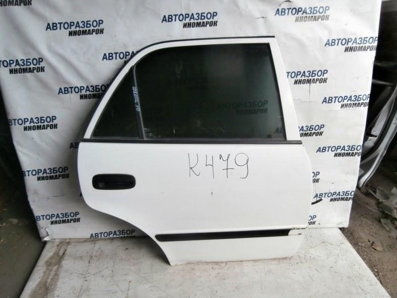 Дверь задняя правая Toyota Corolla AE110 задняя правая (б/у)