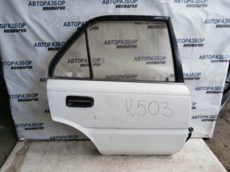 Дверь задняя правая Toyota Corolla AE91 задняя правая (б/у)