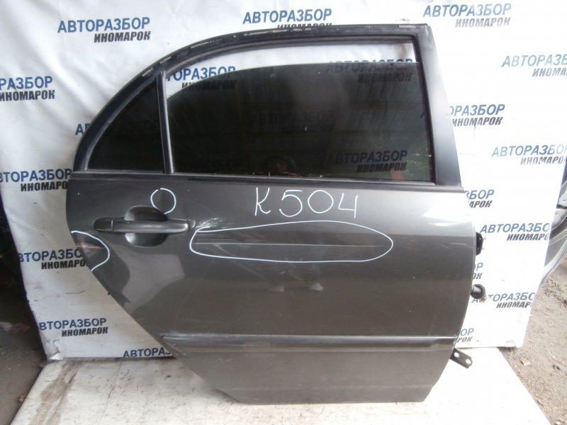 Дверь задняя правая Toyota Corolla NZE120 задняя правая (б/у)