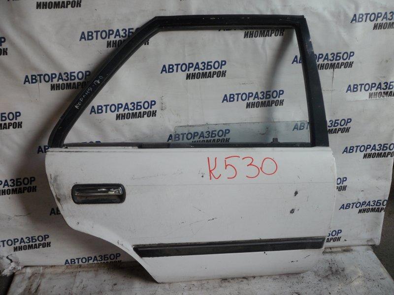 Дверь задняя правая Toyota Corona AT170 задняя правая (б/у)