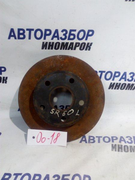 Тормозной диск Toyota Noah SR50 передний (б/у)