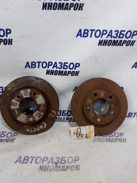 Тормозной диск Mazda Capella GW8W передний (б/у)