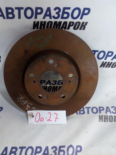 Тормозной диск Honda Stream RN4 передний (б/у)