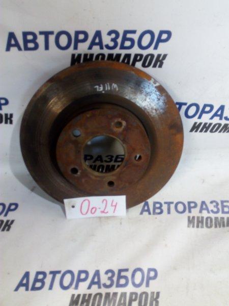 Тормозной диск Nissan Avenir W11 передний (б/у)