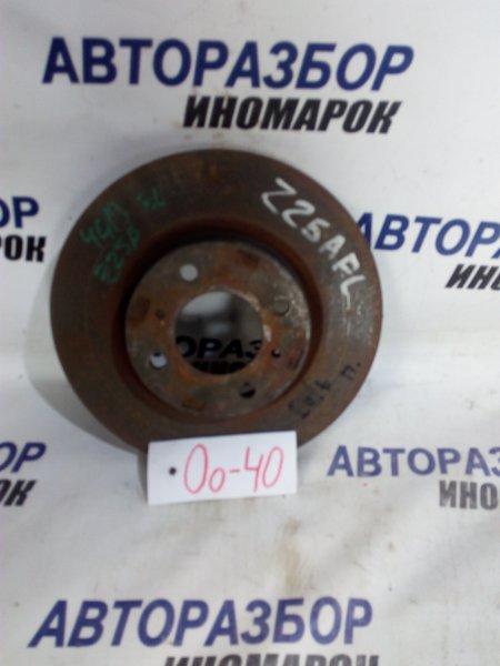 Тормозной диск Mitsubishi Colt Z21A передний (б/у)