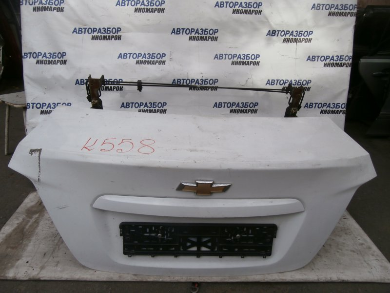 Крышка багажника Chevrolet Aveo T300 задняя (б/у)