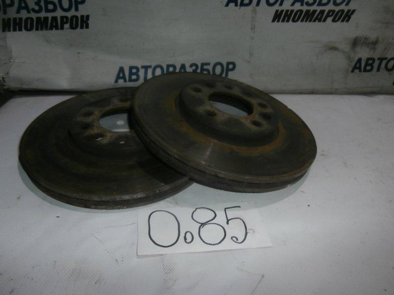 Диск тормозной передний Opel Astra H L48 X18XER 2007 передний (б/у)