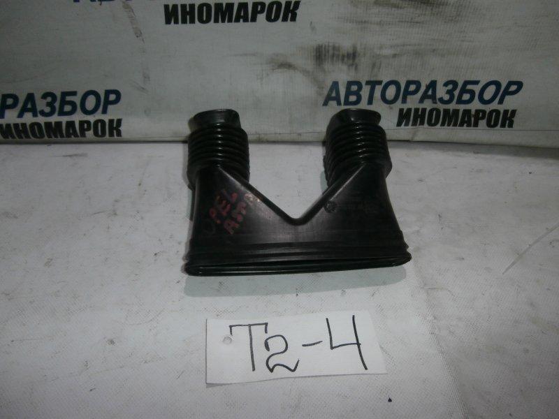 Воздуховод отопителя салона центральный Opel Astra H L48 X18XER 2007 передний (б/у)