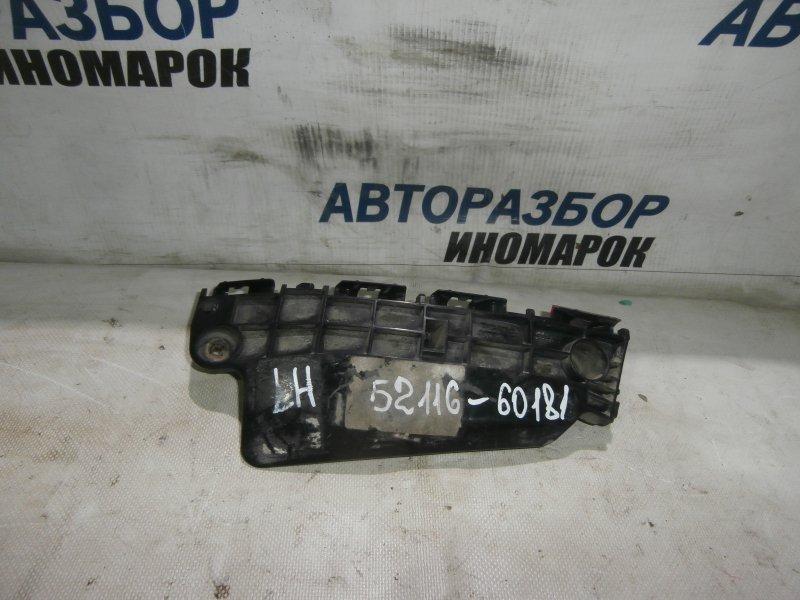 Кронштейн крепления переднего бампера левый Toyota Land Cruiser GRJ200 1GRFE 2009 передний левый (б/у)
