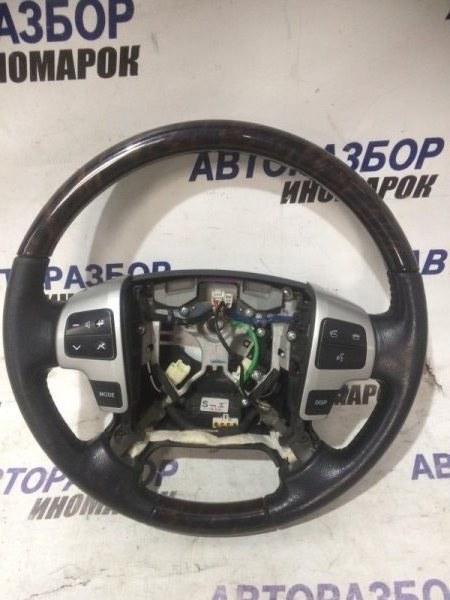 Кнопки управления на руль Toyota Land Cruiser URJ200 1URFE 2009 передние (б/у)