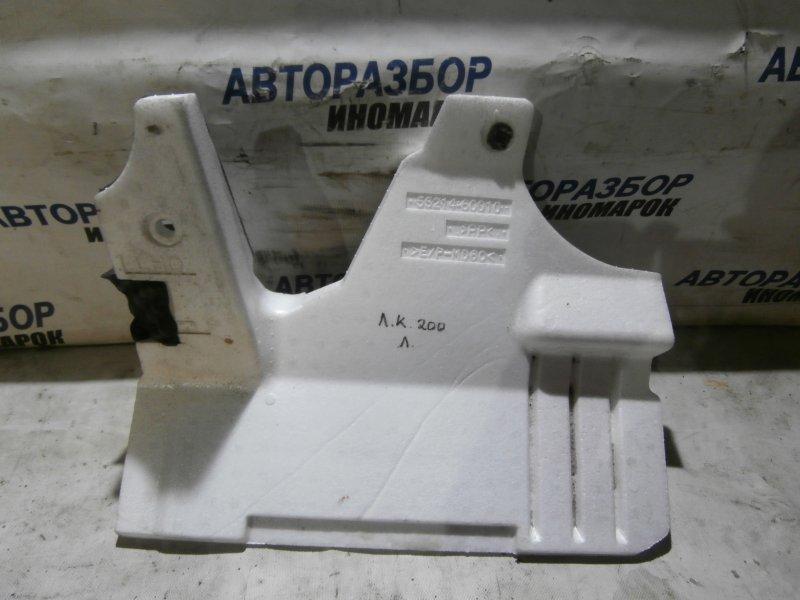 Изолятор приборной панели Toyota Land Cruiser RJ200 1GRFE 2009 передний правый верхний (б/у)