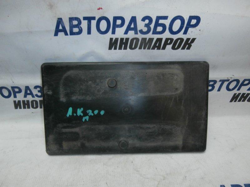 Подставка под аккумулятор Toyota Land Cruiser RJ200 1GRFE 2009 нижняя (б/у)