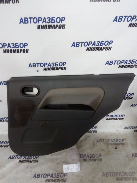 Обшивка двери Ford Fusion CBK 2005 задняя правая (б/у)