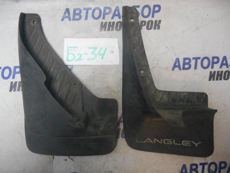 Брызговики комплект Nissan Langley B13 левые нижние (б/у)