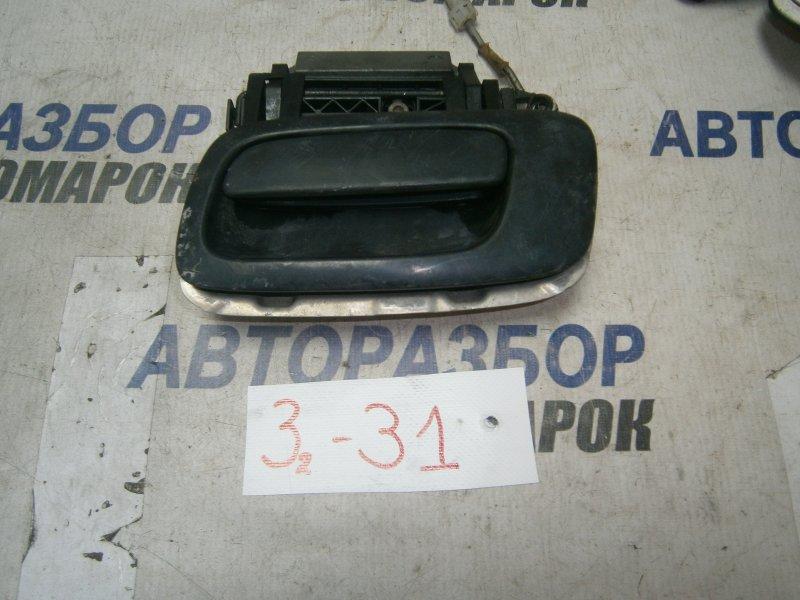 Ручка двери внешняя Chevrolet Viva F69 задняя левая верхняя (б/у)