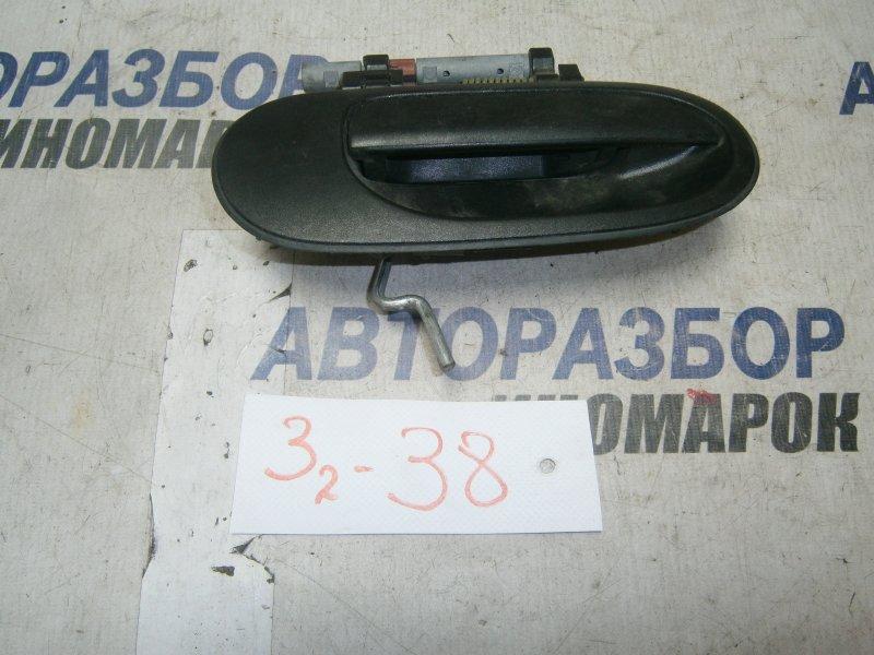 Ручка двери внешняя Nissan Bluebird Sylphy FG10 задняя правая верхняя (б/у)