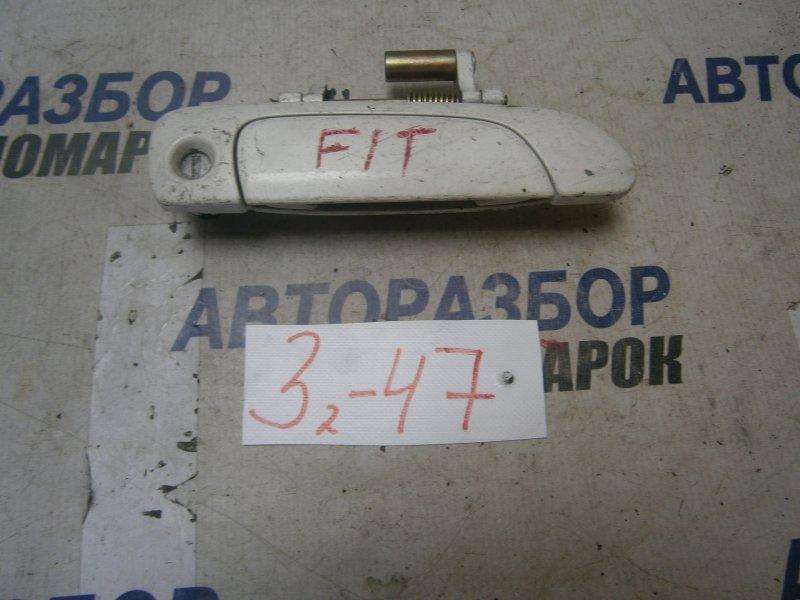 Ручка двери внешняя Honda Fit GD3 передняя правая (б/у)