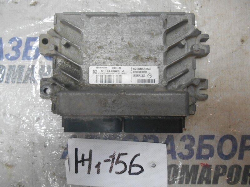 Блок управления двигателем Renault Logan LS0G K7J710 2013 (б/у)
