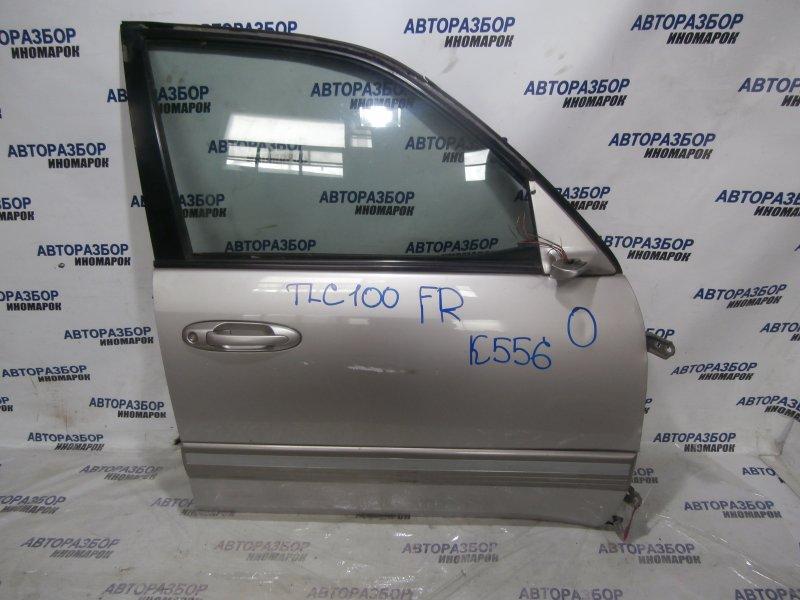 Дверь передняя правая Toyota Land Cruiser HDJ101 2006 передняя правая (б/у)