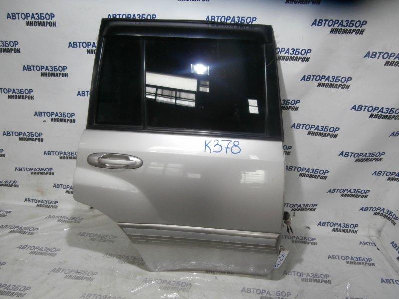 Дверь задняя правая Toyota Land Cruiser HDJ101 2006 задняя правая (б/у)