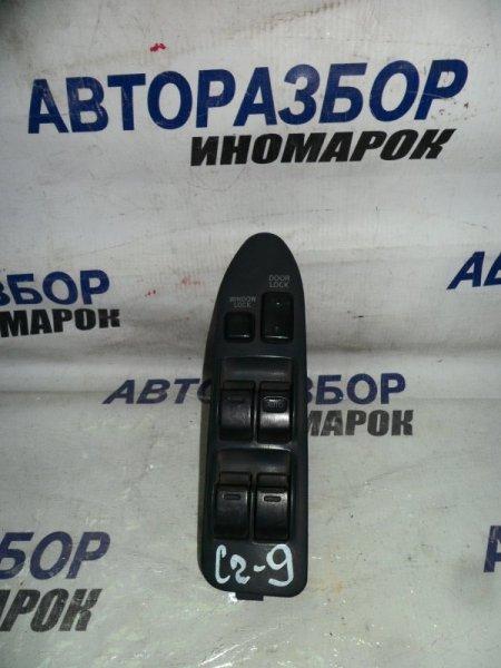 Блок управления стеклоподъемниками Toyota Corolla Ceres AE100 передний правый (б/у)