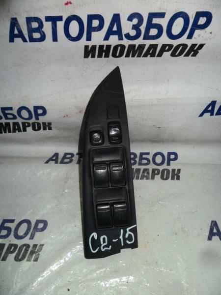 Блок управления стеклоподъемниками Nissan Wingroad WFY11 передний правый (б/у)