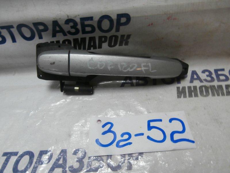 Ручка двери внешняя Toyota Corolla Verso ADE150 передняя левая (б/у)