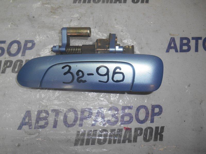 Ручка двери внешняя Honda Fit GD3 задняя левая (б/у)