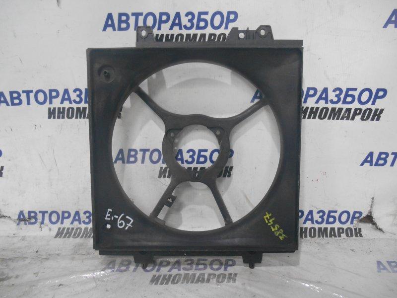 Диффузор радиатора Subaru Legacy BE5 передний правый (б/у)