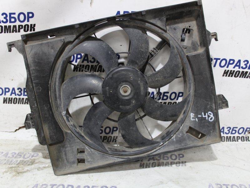 Диффузор радиатора Hyundai Solaris UB передний (б/у)