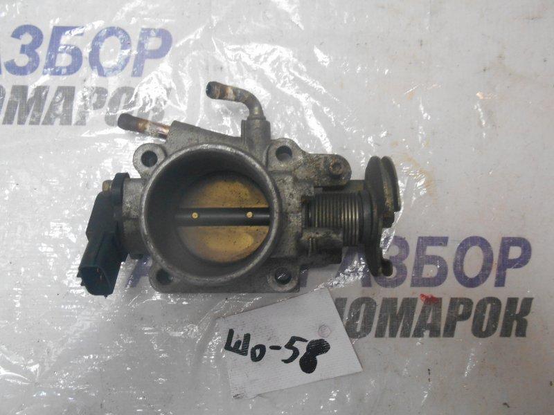 Заслонка дроссельная Mazda Demio DW3W B5 передняя (б/у)