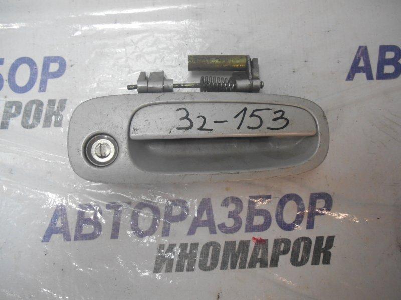 Ручка двери внешняя Toyota Caldina ST210 передняя правая (б/у)