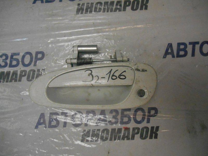 Ручка двери внешняя Honda Stream RN1 передняя левая (б/у)